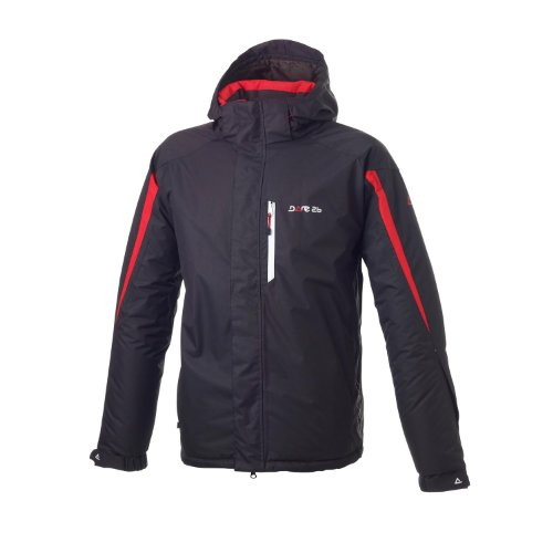 Dare 2B Pierhead Men's Ski Jacket - Black/Red, XXX-Large