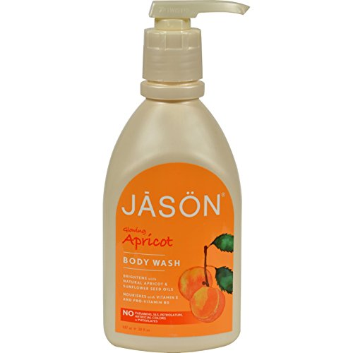 Jason Natural Cosmetics Apricot Satin Shower Body Washes 30