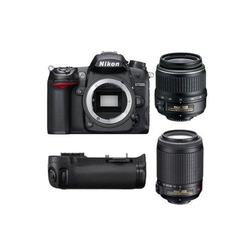 D7000 Reflex Numerique + Objectif AF-SDX 18-55mm 3,5-5,6G VR + Objectif AF-SDX VR 55-200 mm f/4-5...
