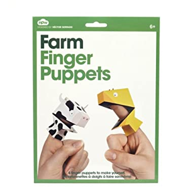 Farm Animals Finger Puppets||AFTVO||RF10F