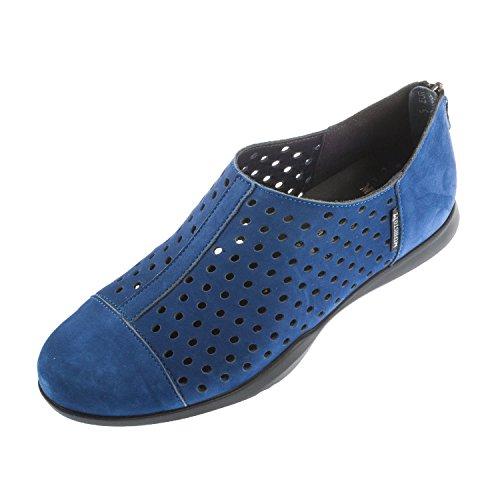 Mephisto da donna Clemence BUCKSOFT Slip On scarpe (c2319), blu (Electric Blue), 38 EU