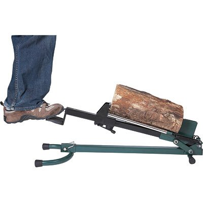 Best Buy! Quality Craft Foot-Operated Log Splitter - 1.5-Ton Capacity, Model# LSF-001