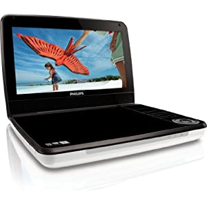 Philips PD9000/37 9-Inch LCD Portable DVD Player with 5 Hour Battery
