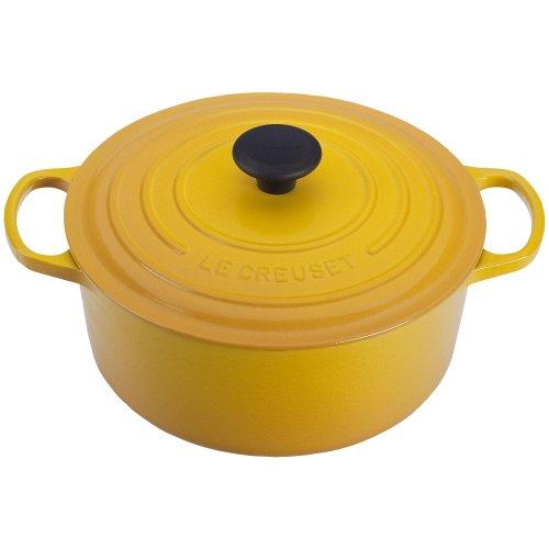 Le Creuset Le Creuset 7.25 Qt. Round French Oven - Soleil, Yellow, Cast Iron