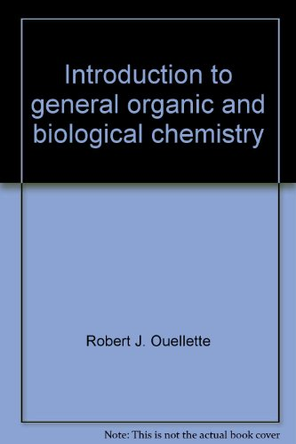 Introduction to general, organic, and biological chemistry PDF