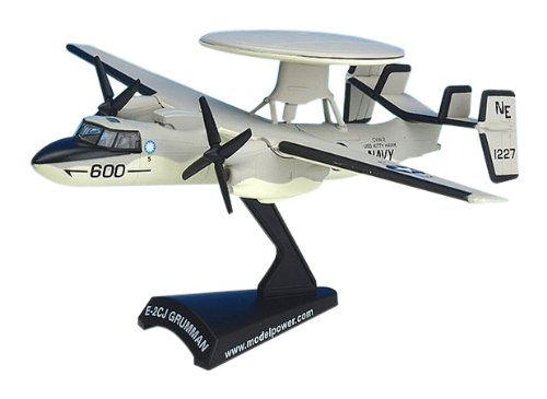 E2 Hawkeye Aircraft Built-Up Die Cast 1-145 Model Power - 1