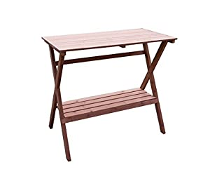 Merry Garden Simple Potting Bench and Console Table