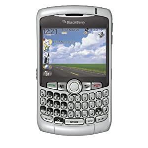 Blackberry Curve 8320 Unlocked GSM Quad-Band Cell Phone - Silver