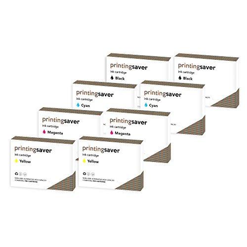 2xSETS von Kompatible Tintenpatronen fur LEXMARK Impact S300, S301, S302, S305, S308, Interact S601, S602, S605, S606, S608, Interpret S402, S405, S408, S409, Intuition S502, S505, S508, Genesis S815, S816, Prospect Pro202, Pro205, Pro208, Pro209, Prevail Pro701, Pro702, Pro703, Pro705, Pro706, Prestige Pro803, Pro805, Pro808, Pinnacle Pro901, Platinum Pro902, Pro903, Pro904, Pro905, Pro909 drucker