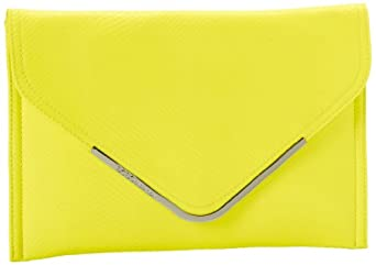 BCBGeneration Nadia AAW020GN Clutch,Neon Lime,One Size