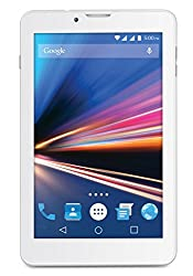 Lava Ivory S 4G Tablet (WiFi and Voice Calling), White-Silver