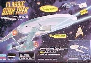 Classic Star Trek U.S.S. Enterprise With Actual Lights and Sounds