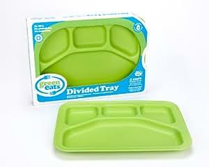 Green Eats Green Eats Divided Tray, Green
