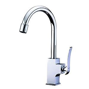 Kitchen sink faucet hole rotation Amazon