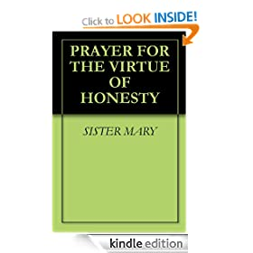 PRAYER FOR THE VIRTUE OF HONESTY