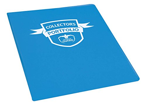 Portfolio 9-Pocket Standard-Size Blue Card Game