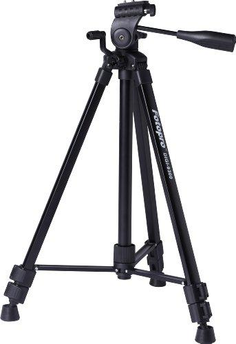 Rollei DIGI 9300 - Trépied vidéo avec tête panoramique pour caméscope - sac inclus - Noir