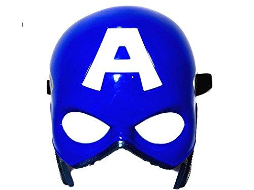 Marvel Superhero The Avengers Costume LED Light Eye Mask (Captain America)