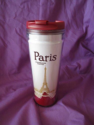 Vaso de viaje para cafe o te de París con...
