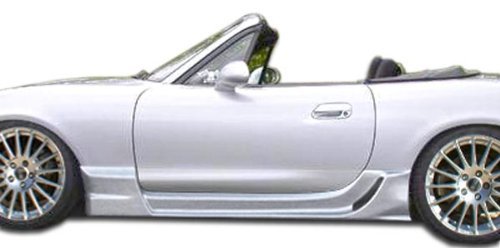 1998-2005 Mazda Miata Duraflex Wizdom Side Skirts Rocker Panels - 2 Piece (Miata Side Skirts compare prices)