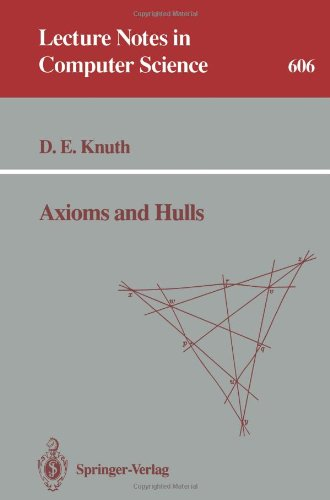 Axioms and Hulls (Lecture Notes in Computer Science)
