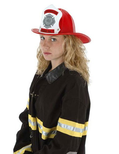 Hat Fire Chief Red Halloween Costume - 1 size