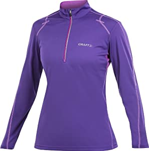 Craft Ladies Long Sleeve Performance Run Halfzip Top by Craft