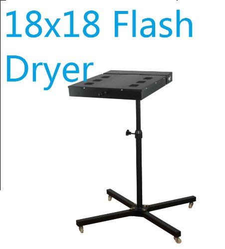 Flash Dryer 18x18, for Plastisol T Shirt Silkscreen