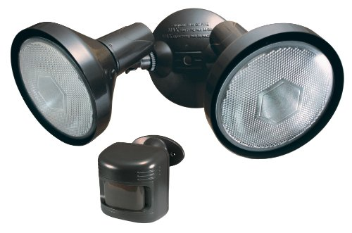 Heath/Zenith SL-6058-BZ Security Light with Wireless Motion Sensor, Bronze