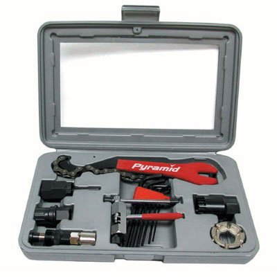 Sunlite 15 Piece Home Mechanic Bicycle Tool Kit With Case