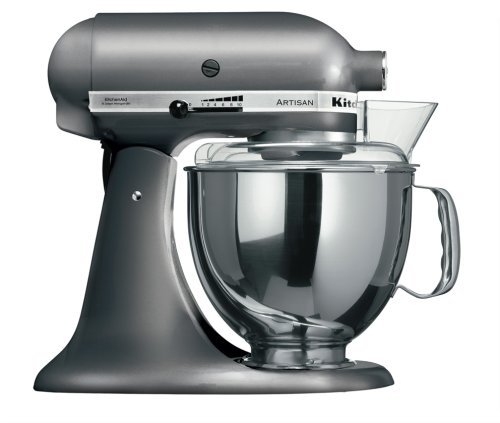 KitchenAid Artisan KSM150BPM Stand Mixer Pearl Metallic