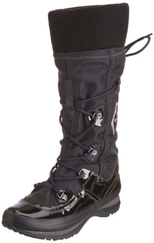 Geox Women's D Wintry St.Wp C Black Rain And Snow Boots D1321C0Fuhhc9999 5 UK, 38 EU