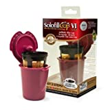 Solofill Cup V1 Gold Refillable Filter Cup for Keurig V600/V700 Brewers