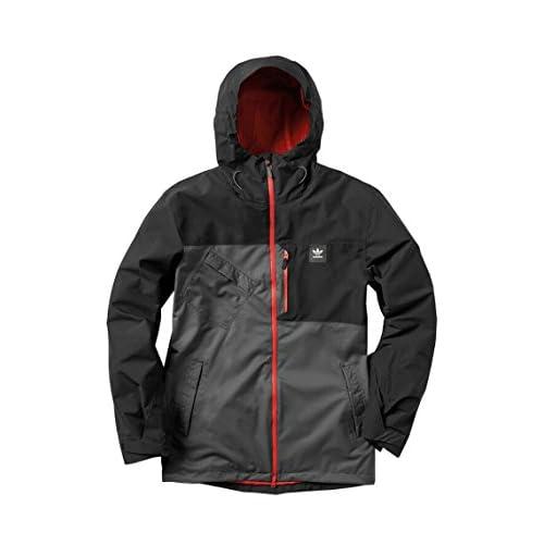 (アディダス) adidas ボードジャケット SNB JACKET S89027 BLACK Mサイズ