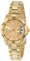 Invicta Womens 15119 Specialty 18k Gold Ion-Plated Stainless