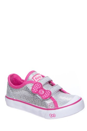 Keds Toddler's Hello Kitty I Heart Kitty Hook & Loop Sneaker