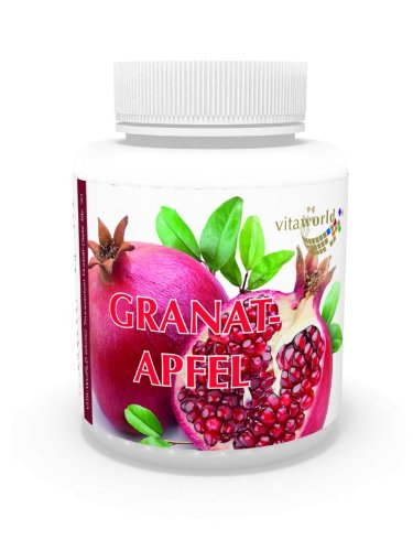 Vita World Granatapfel Extrakt 300mg 100 Kapseln 40 % Ellagsäure Apotheken Herstellung