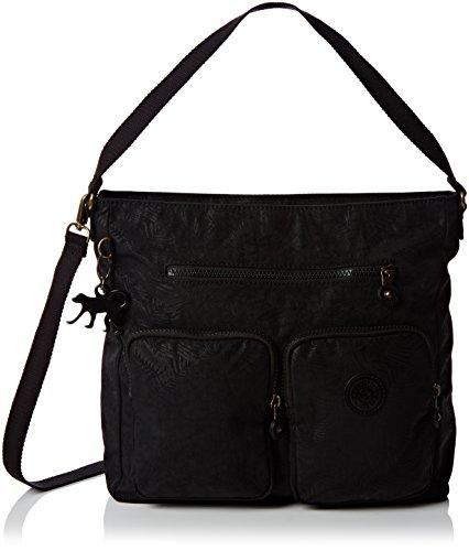 kipling-womens-tasmo-shoulder-bag-black-black-leaf