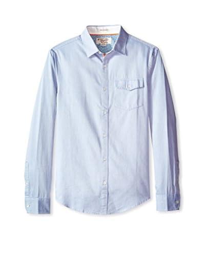 Original Penguin Men's Refined Light Indigo Shirt
