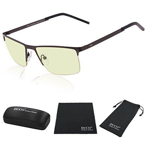 Rimless Glasses Headache : Duco Optiks Clip on Rimless Ergonomic Advanced Computer ...
