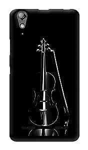 "Humor Gang Violin Love Printed Designer Mobile Back Cover For ""Lenovo A6000"" (3D, Glossy, Premium Quality Snap On Case)"