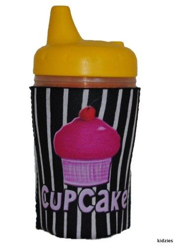 Kidzies Huggerz, Child'S Drink Sippy Cup Bottle Insulator, Cupcake Design front-658811