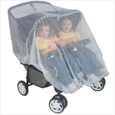Graco Insect Bug Netting For Twin/Tandem Strollers - 1
