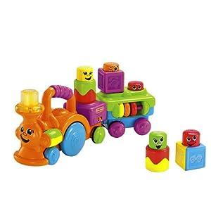 Fisher Price - Trenecito bloques sorpresa (Mattel P7528) - BebeHogar.com