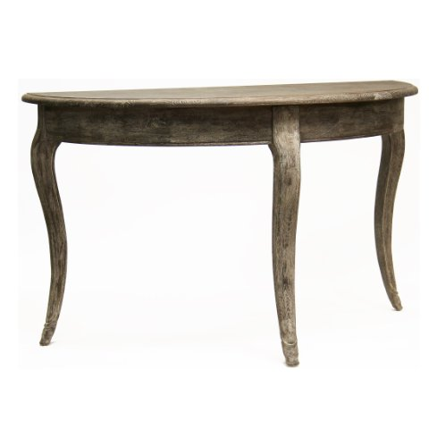 Cheap Maison French Country Demi Lune Console Table (T030 E271)