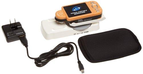 "Aven 26700-520 Iloupe Xl2 Hand-Held Portable Digital Microscope, 2.7"" Full Color, Led Illumination, 15X-200X Digital Magnification"