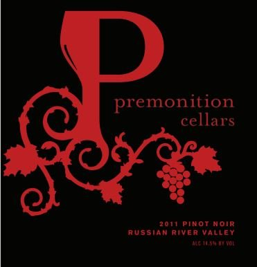 2011 Premonition Cellars, Pinot Noir, Russian River Valley