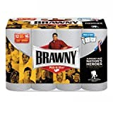 Brawny Paper Towels, 12 Count Big Rolls, White