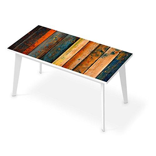 Sticker für Tisch 150x75 cm  Bedruckte Klebe-Folie Modernes Wohnen Tischfolie  Muster Ornament ...
