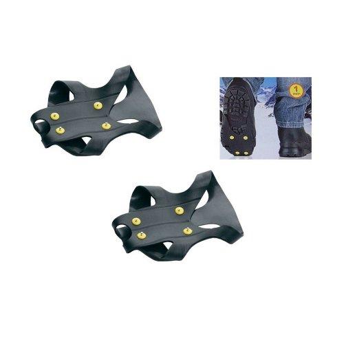 Trinity pro - Suole antiscivolo da agganciare sotto alle scarpe, per uso con ghiaccio o neve